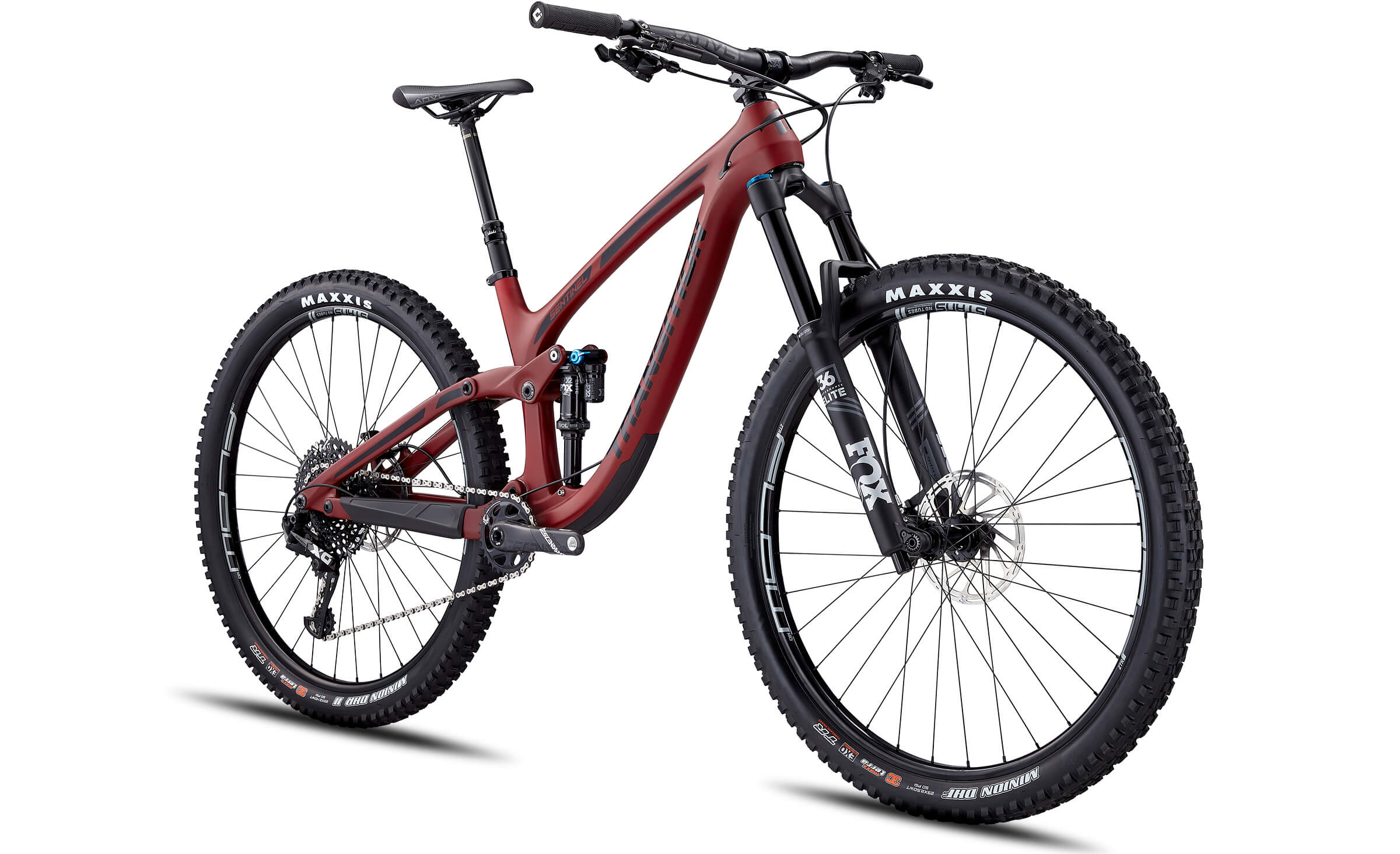 2020 Transition Sentinel Carbon X01 Full Sus Mountain Bike in Red | MTB