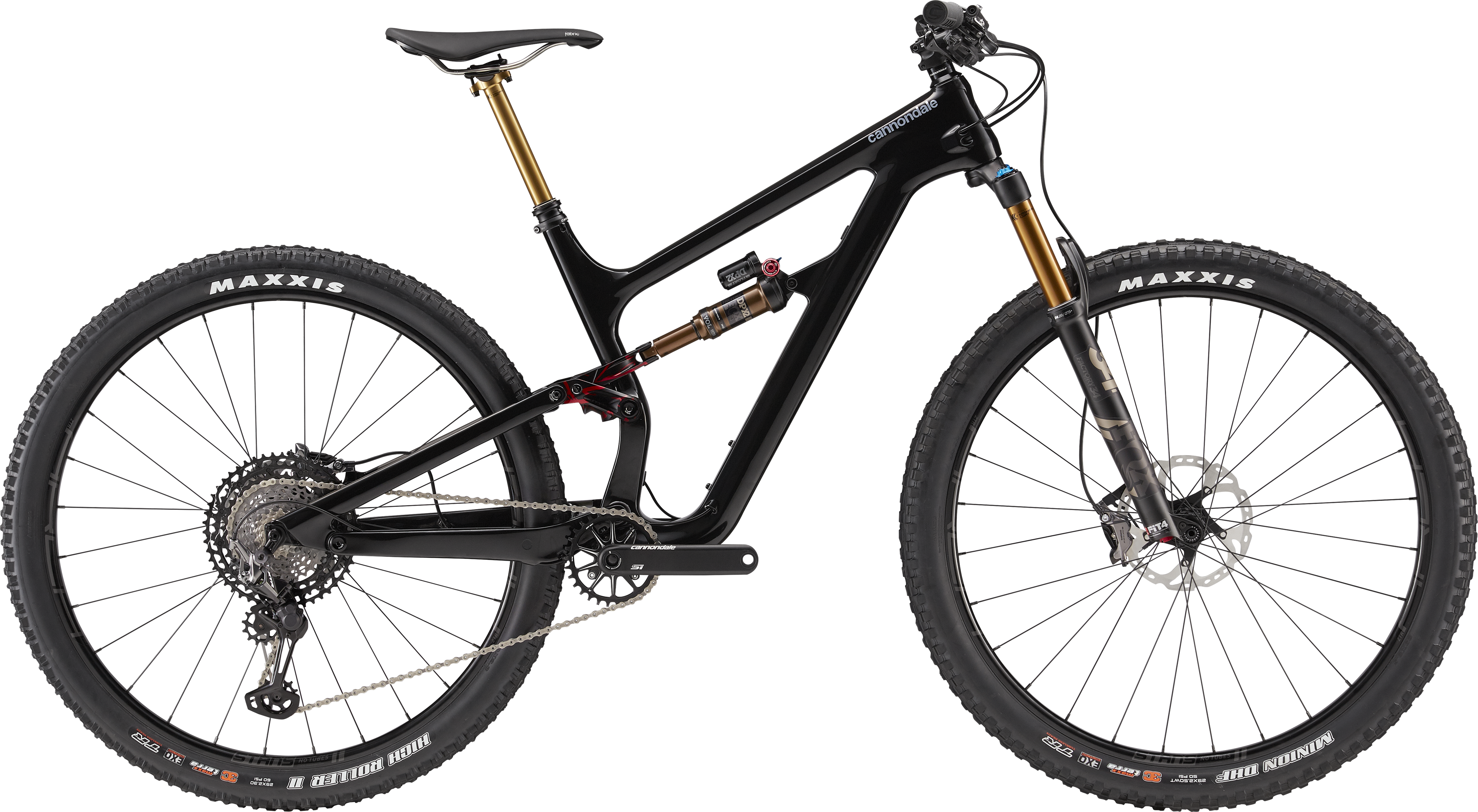 2019 Cannondale Habit Carbon 1 Full Suspension Mountain Bike in Black | MTB