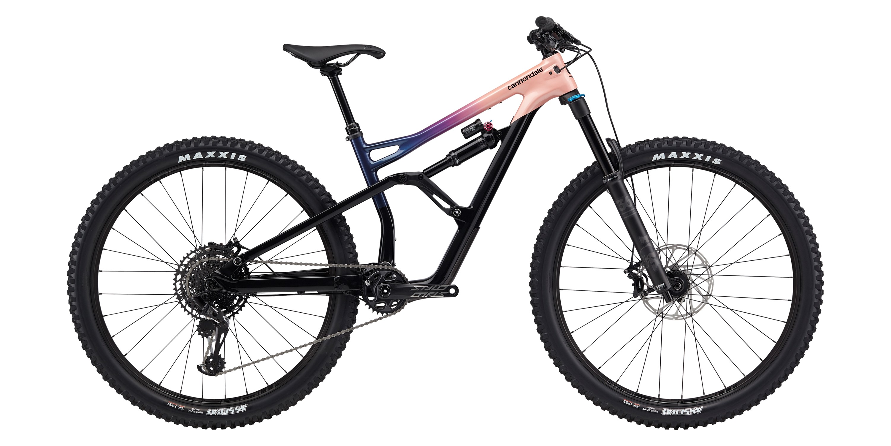 2020 Cannondale Jekyll 1 Carbon Womens FS Mountain Bike in Pink | MTB