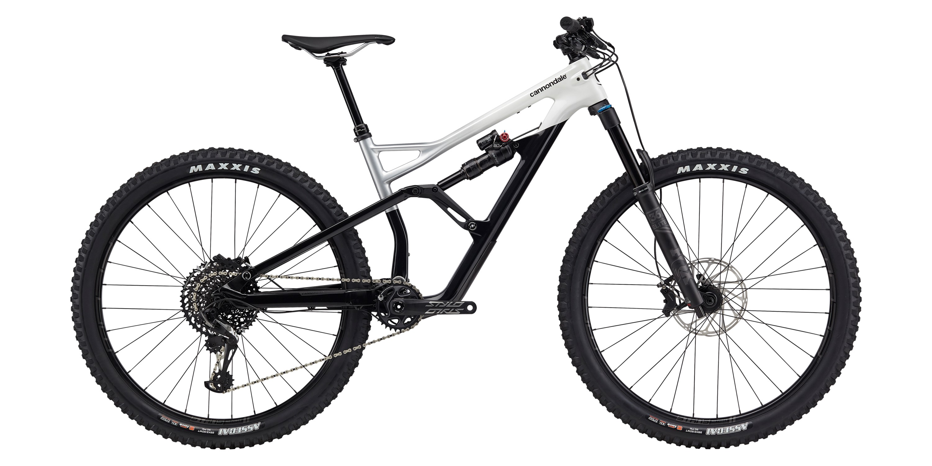 2020 Cannondale Jekyll 2 Carbon Full Suspension Mountain Bike in White | MTB