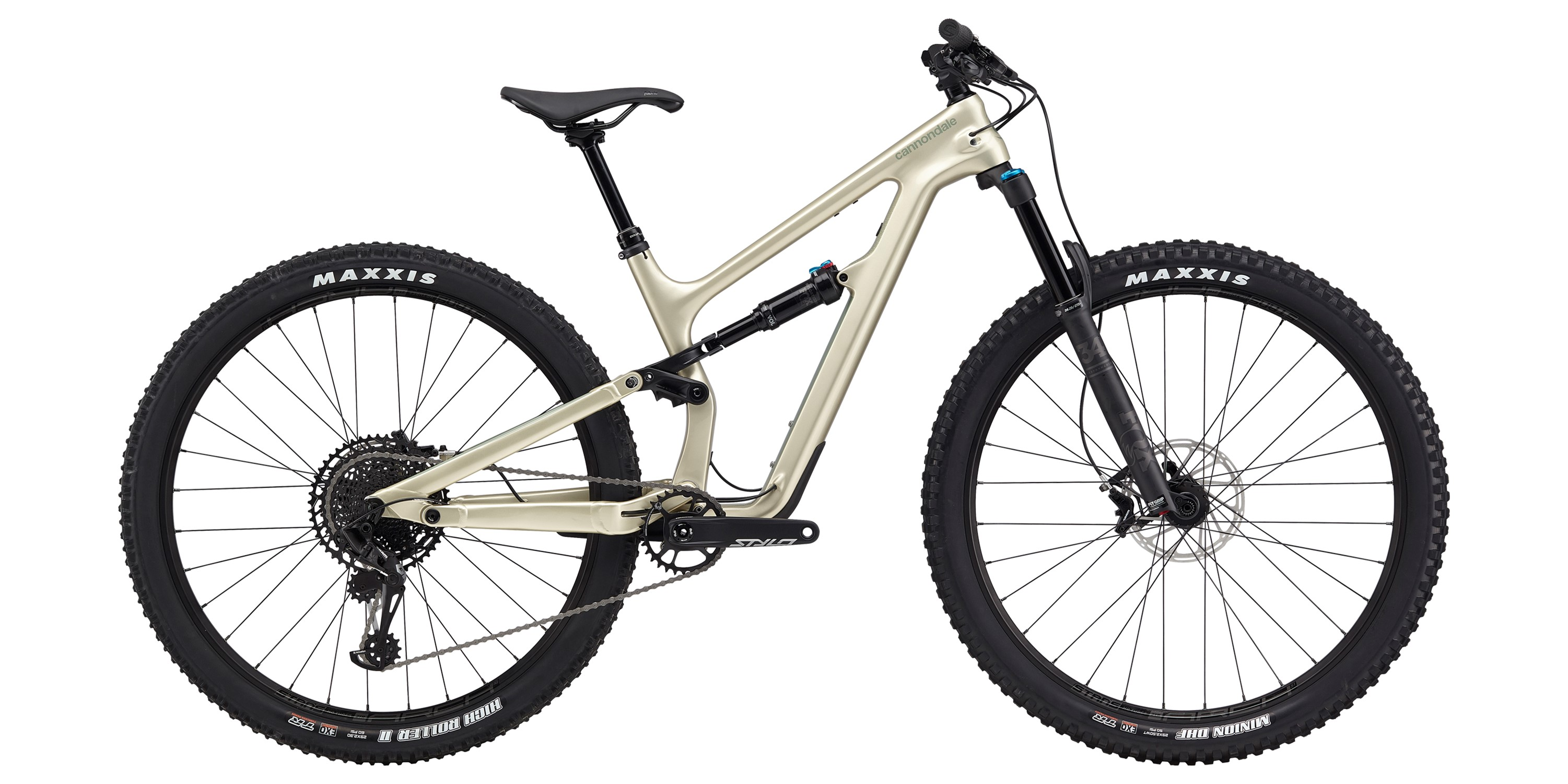 2020 Cannondale Habit Carbon 1 Womens FS Mountain Bike in Brown | MTB