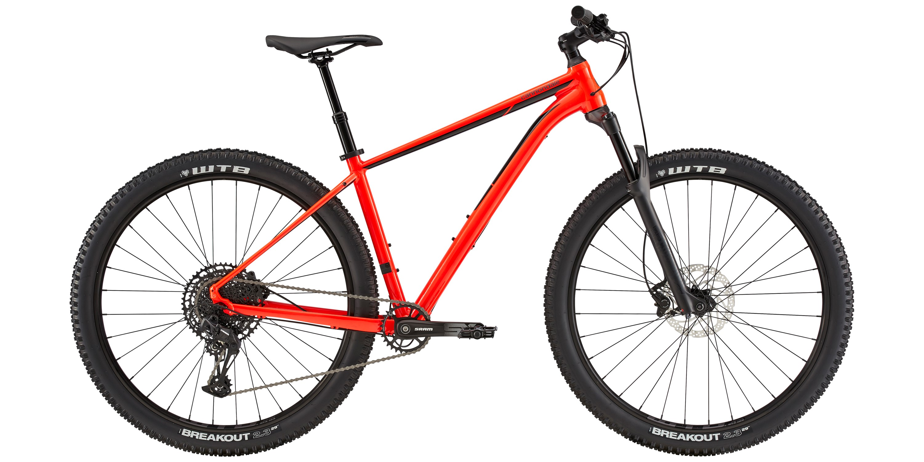 2020 Cannondale Trail 2 Mens Hardtail Mountain Bike in Red | Mountainbikes
