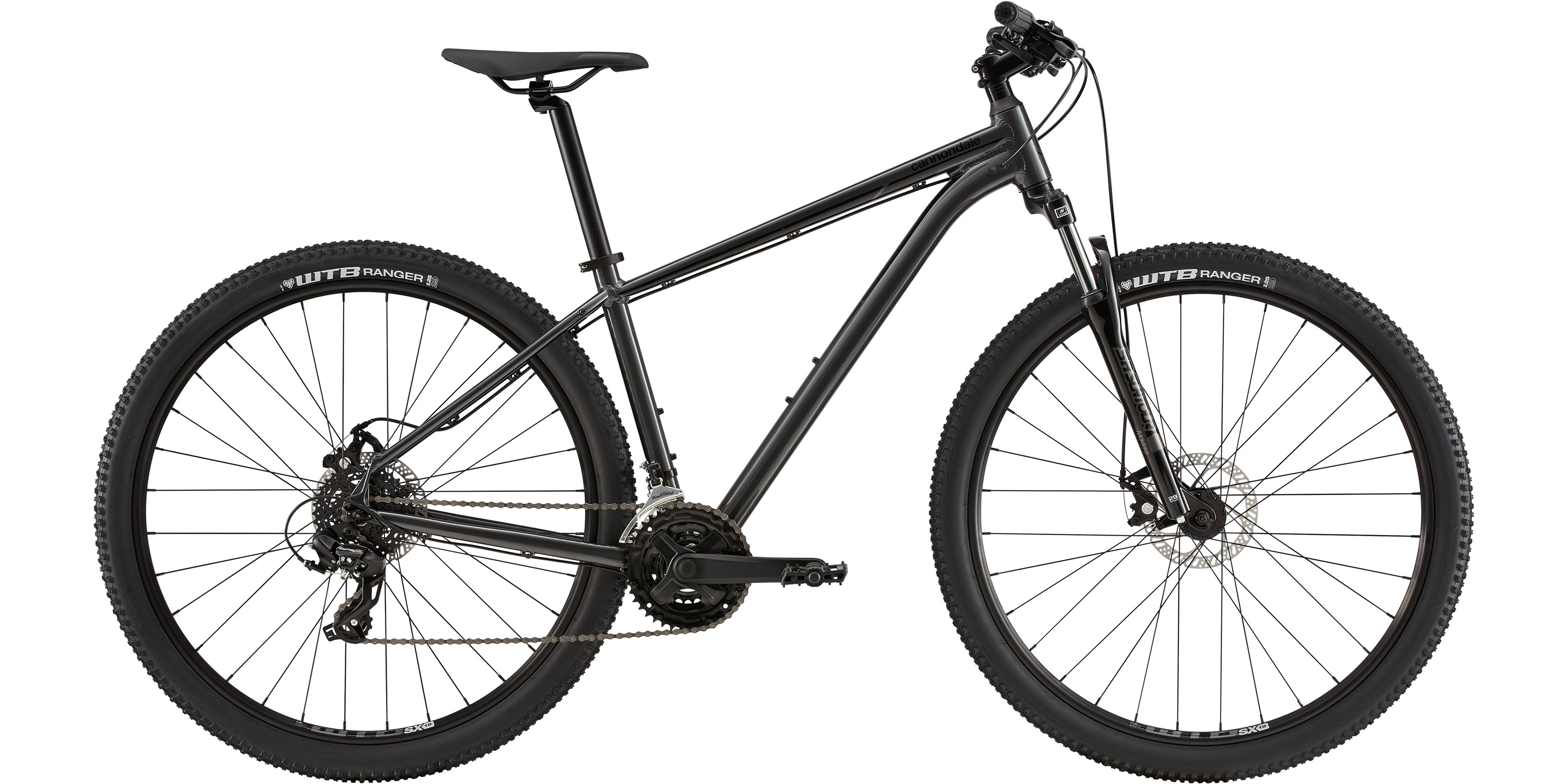 2020 Cannondale Trail 8 Mens Hardtail Mountain Bike in Grey | MTB