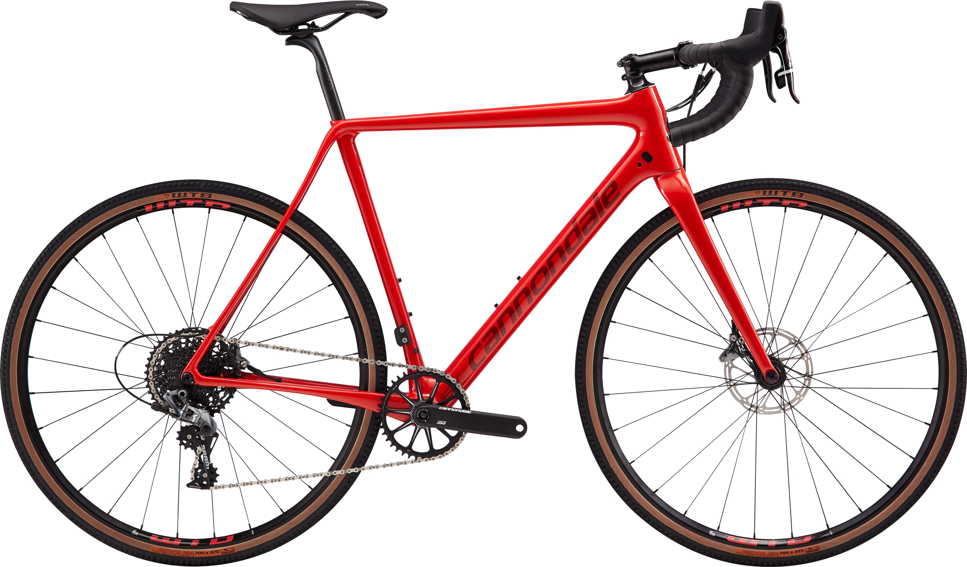 2019 Cannondale SuperX SE Force 1 Carbon Mens Cyclocross bike in Red | Cross-cykler