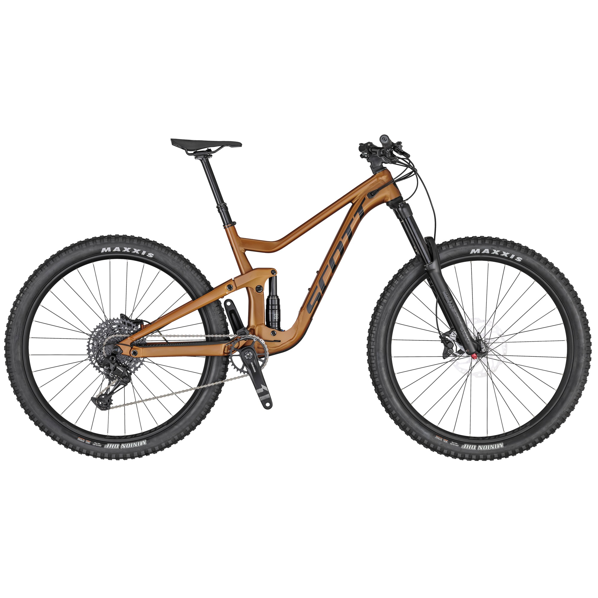 2020 Scott Ransom 930 Full Suspension Mountain Bike in Brown | Mountainbikes