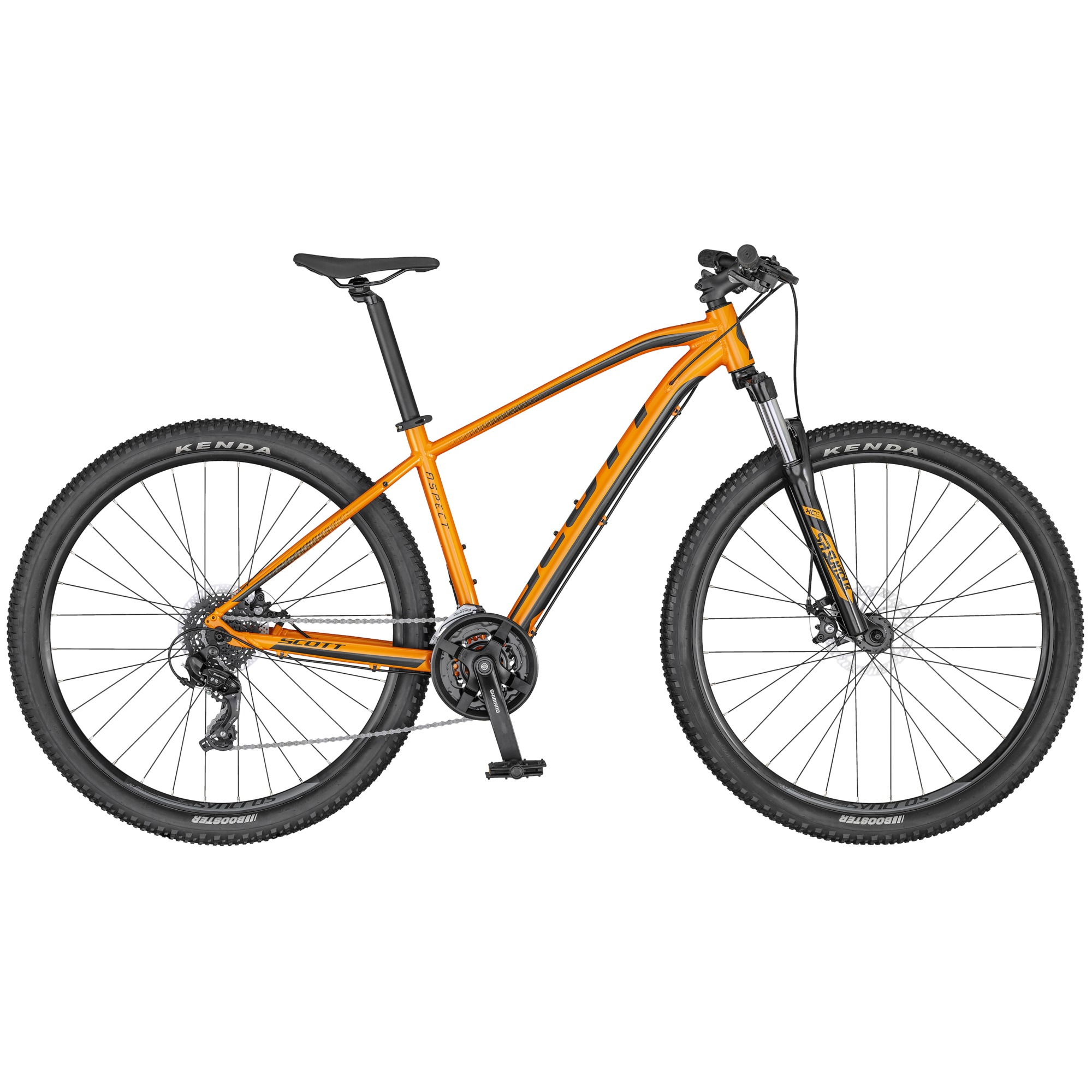 2020 Scott Aspect 970 Orange/DK Grey Mountain Bike | MTB