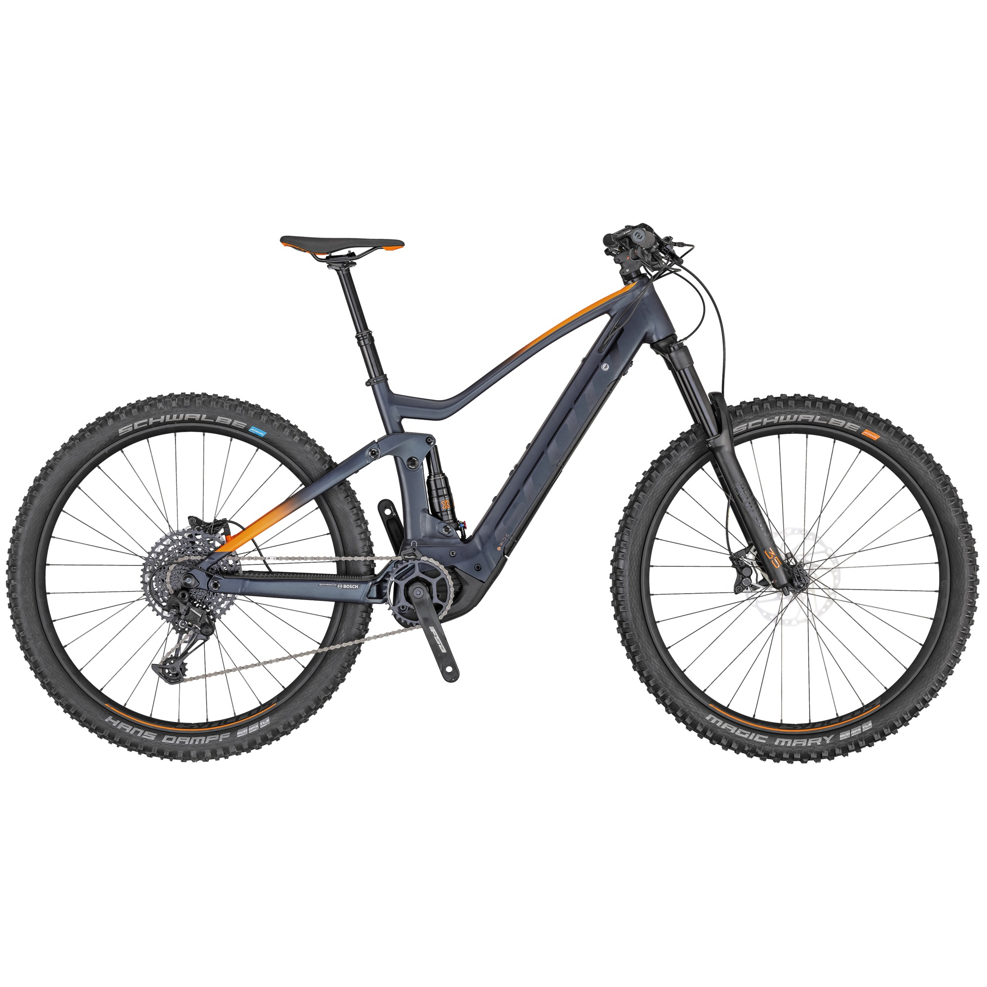 2020 Scott Genius eRide 930 Electric FS Mountain Bike in Black | MTB