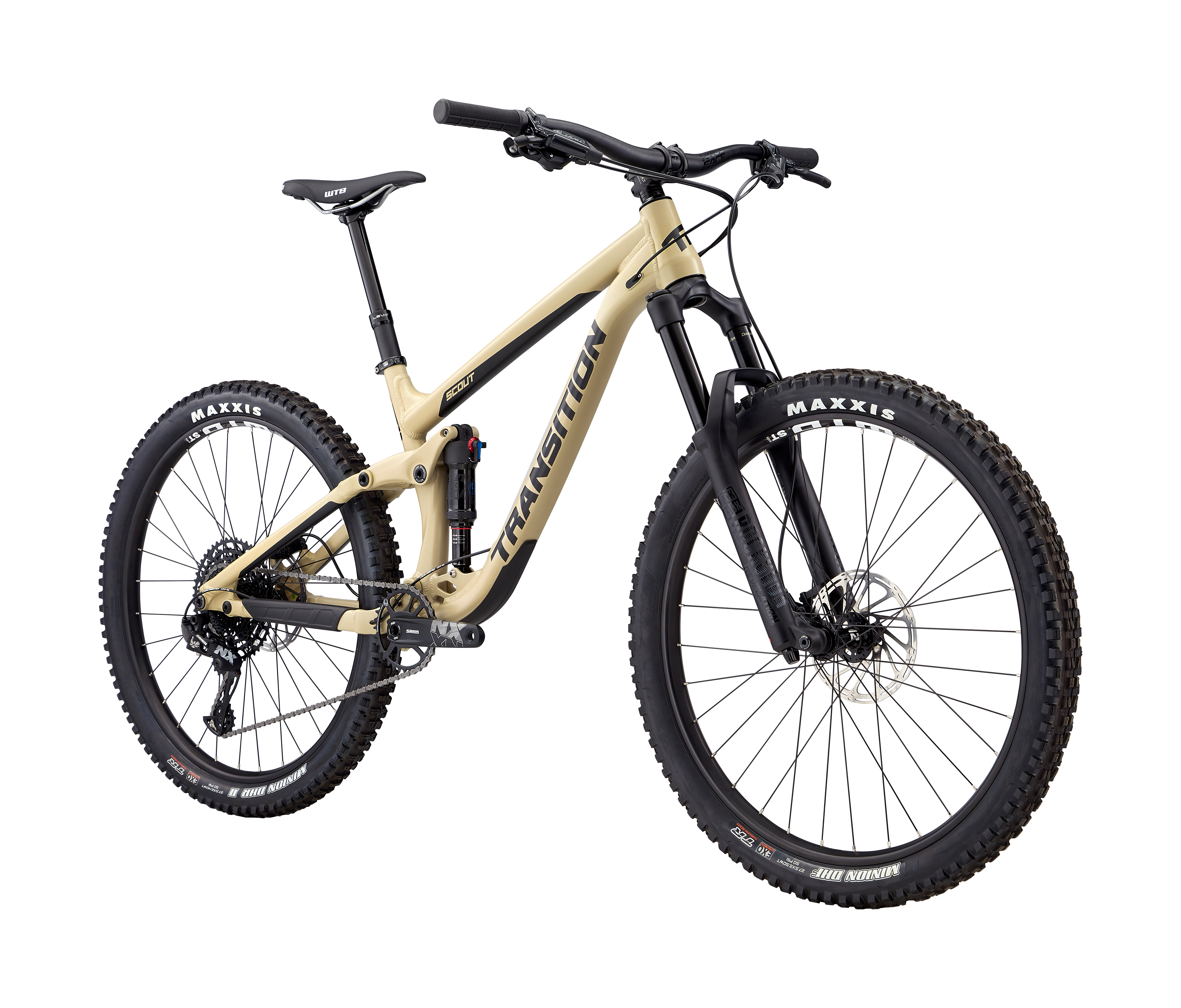 2019 Transition Scout NX Alloy Full Suspension Mountain Bike in Brown | MTB