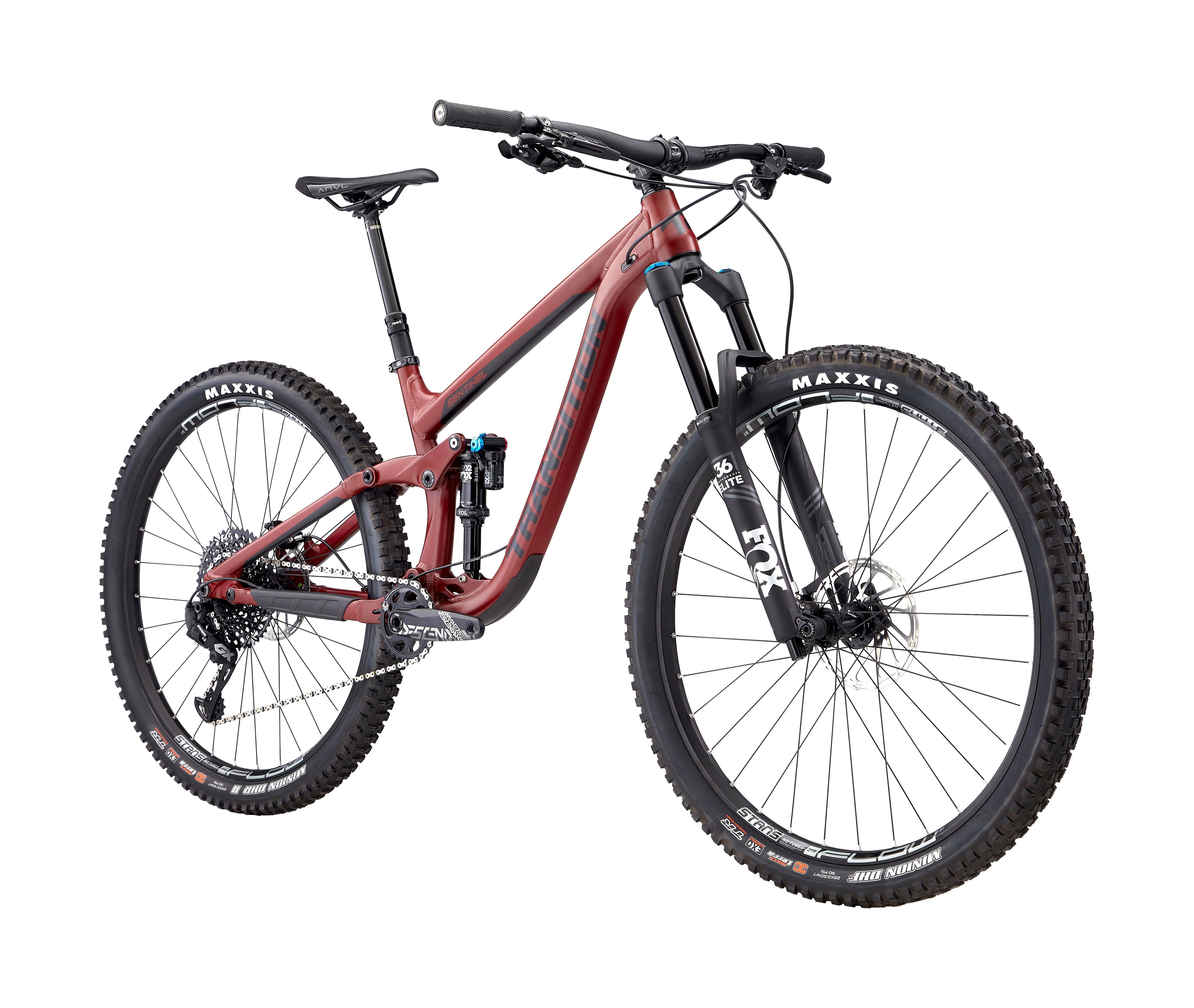 2019 Transition Sentinel Alloy GX Full Suspension Mountain Bike in Red | MTB