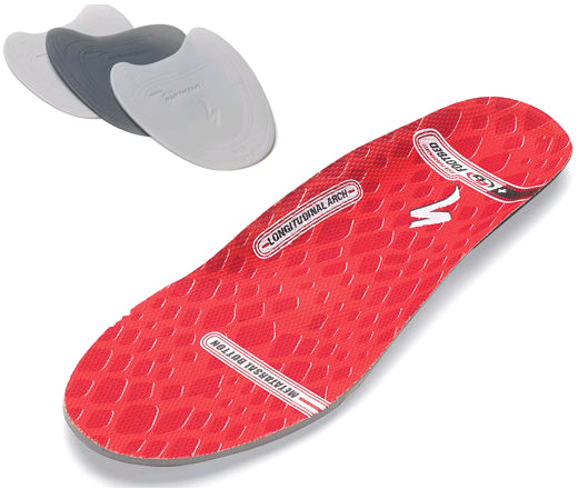 36-38 Body Geometry High Performance Footbeds High Permance Red | shoes_other_clothes
