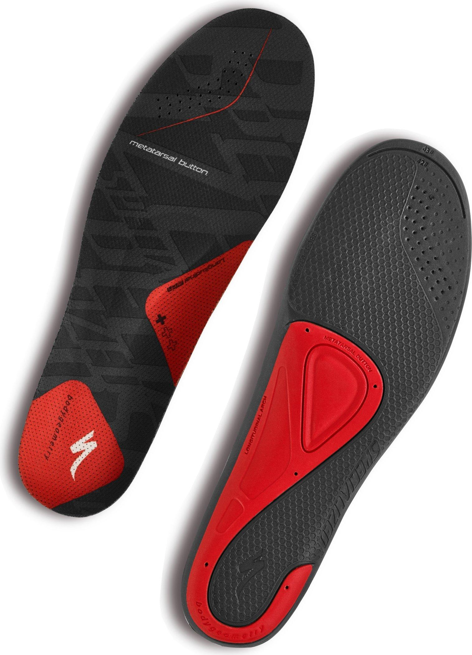 2018 Specialized Body Geometry SL Footbeds Bg Sl Footbed in Red | shoes_other_clothes