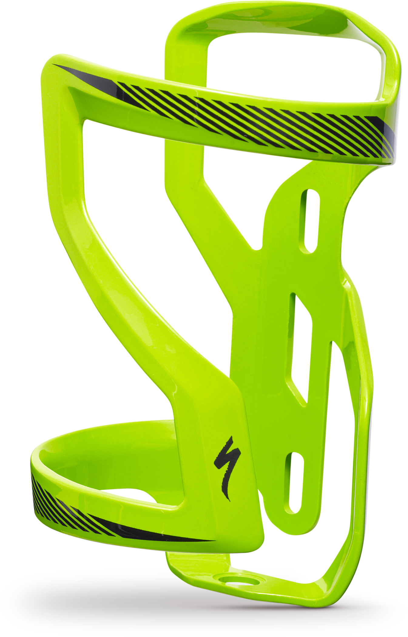2019 Specialized Zee Cage II Left Bottle Cage in Green | Bottle cages