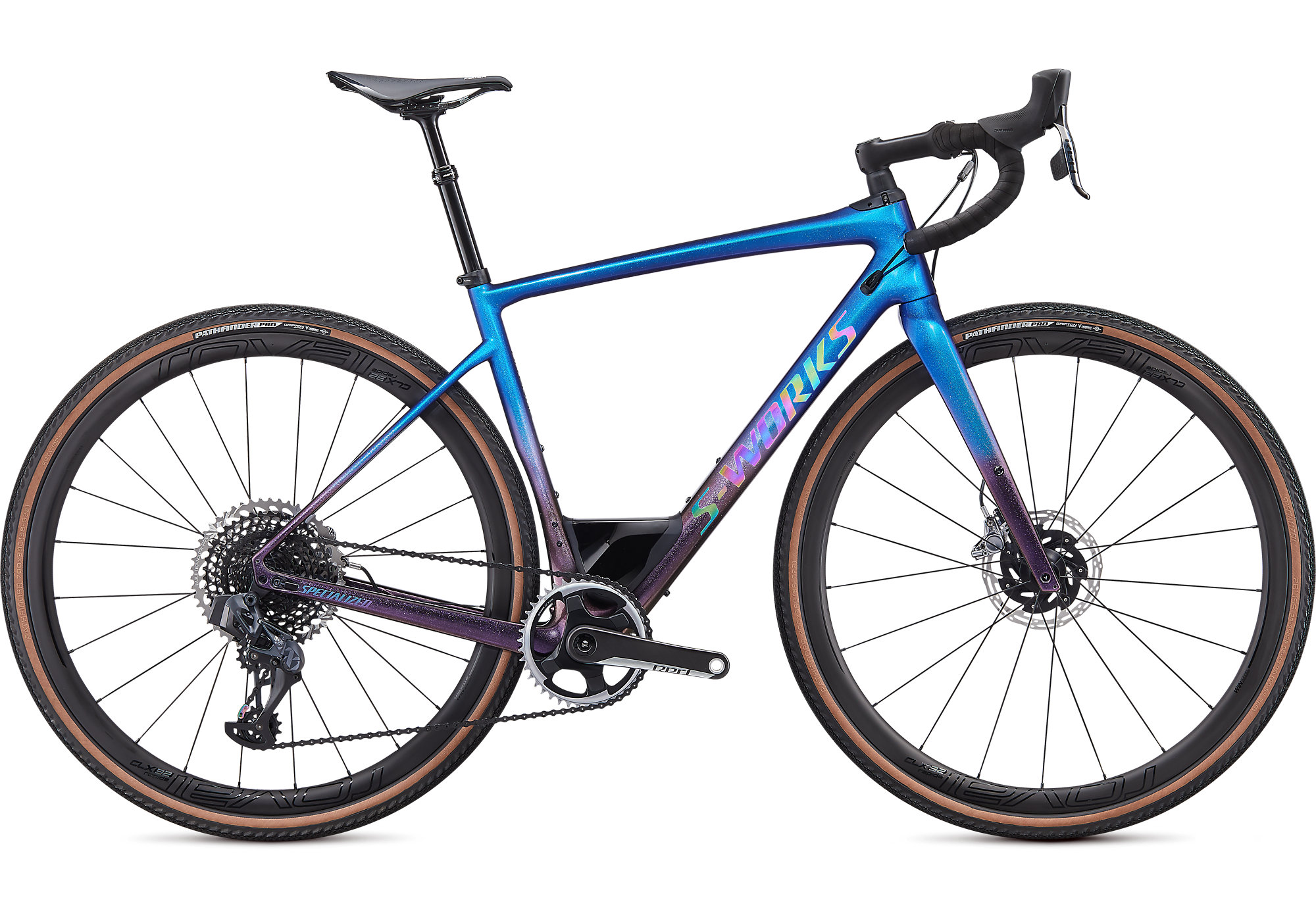 2020 Specialized S-Works Diverge Carbon Gravel Bike in Blue | Cross