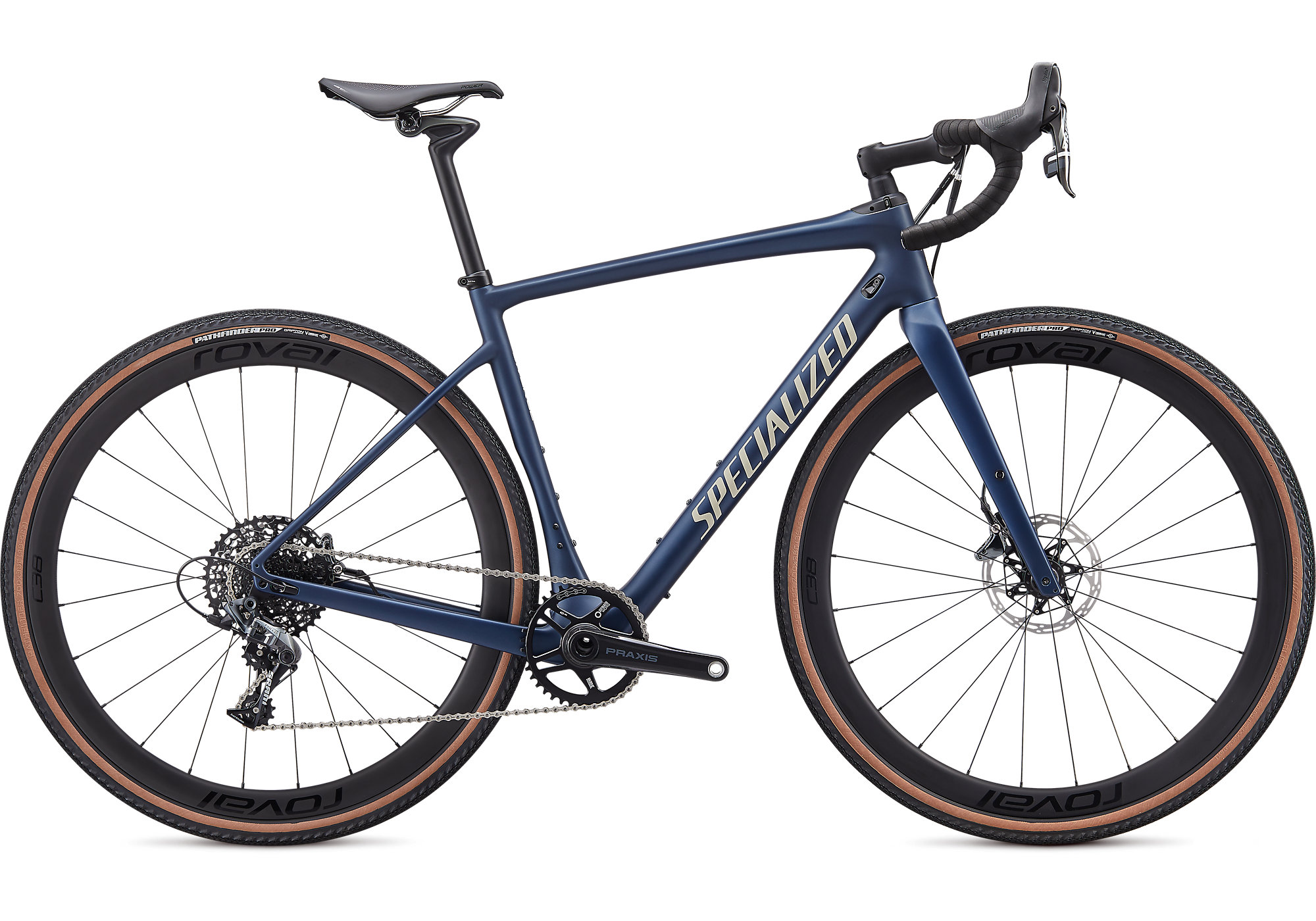 2020 Specialized Diverge Expert Carbon Gravel Bike in Blue | Cross